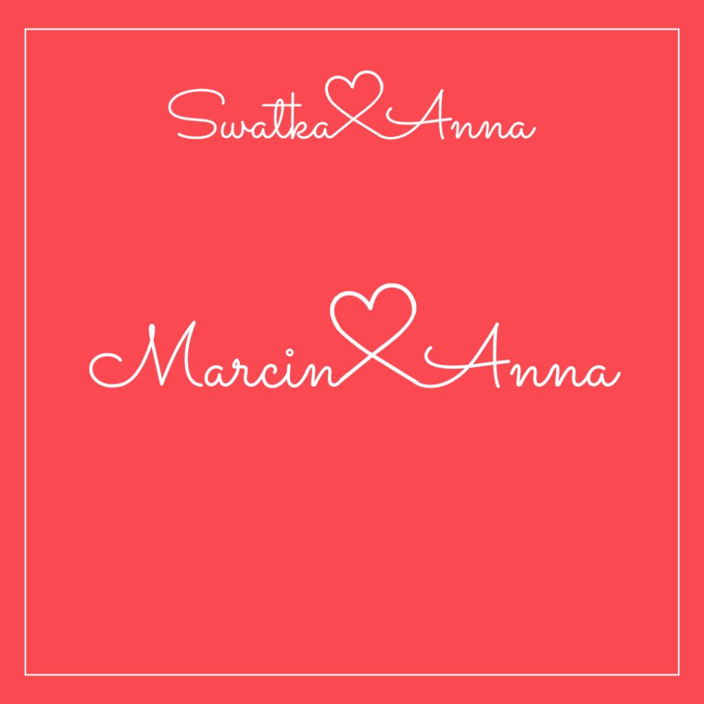 Szczęśliwie połączeni Marcin i Anna